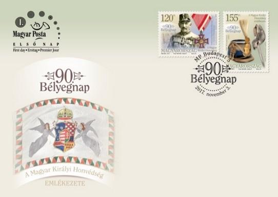 Katonás díszboríték, Kép: Magyar Posta