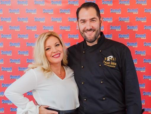 Liptai Claudia és Pataki Ádám - a konyhában is összhangban, Kép: Somat