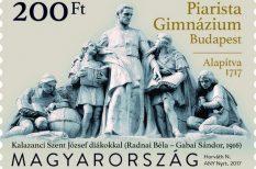 bélyeg, Horváth Nóra grafikus, phylatelia, Piarista Gimnázium, születésnap