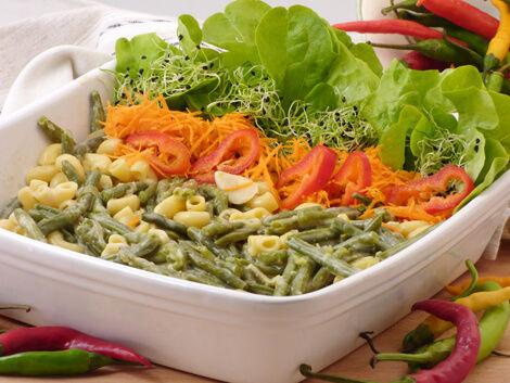 Zöldbab vegán szószban, Kép: bulkshop.hu