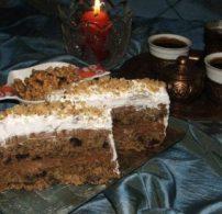 csoki, datolya, mazsola, torta