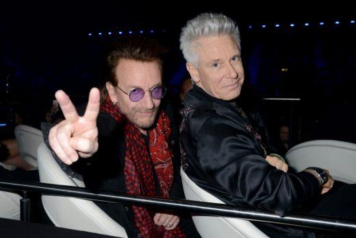 A U2 Global Icon díjas lett Kép: sajtóanyag
