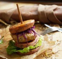 burger, édesburgonya, egészséges, liba, Marton Adrienn, márton nap
