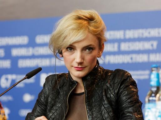 Borbély Alexandra a Berlinale sajtótájékoztatóján, Kép: wikimedia