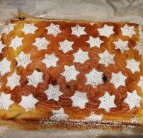 csillagok, karácsony, porcukor, rétes liszt, sütemény, ünnep