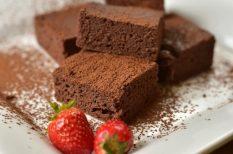 brownie, ételpor, karcsúsító sütemény, szilveszter