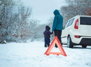 autózás, balesetmegelőzés, biztonság, defekt, gumi, óvatosság, tél, téli abroncs, veszély