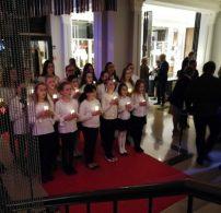 budapest, díszítés, fogadás, karácsony, Ritz-Carlton, ünnep