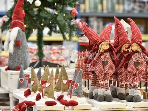 Karácsonyi figurák, Kép: Praktiker