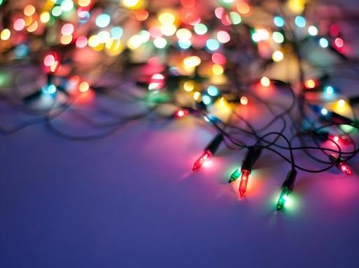 Karácsonyi led-füzér, Kép: újHáz Centrum