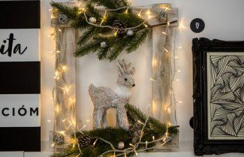 festék, karácsonyi dísz, kreativitás, ragasztópisztoly, vintage