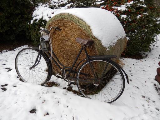 Téli kerékpár, Kép: pixabay