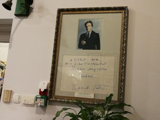 Zwack Péter üzenete, Kép: László Márta