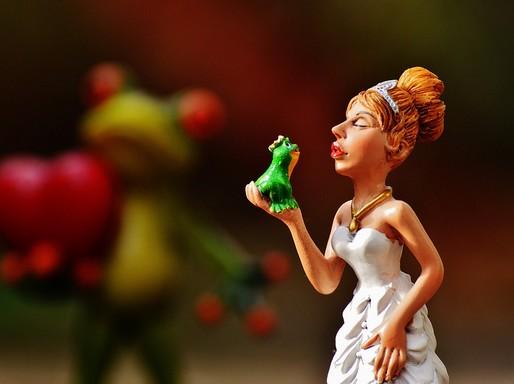 Békakirályfi a hercegnővel, Kép: pixabay