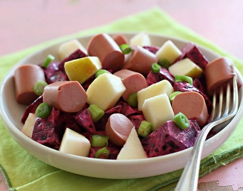 Céklás salátám, Kép: gallicoop.hu