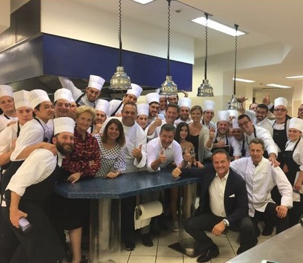Da Vittorio csapat, Kép: Dining Guide