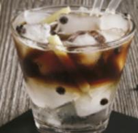 aperitife, farsang, Golden Globe, jég, kávé, tonik