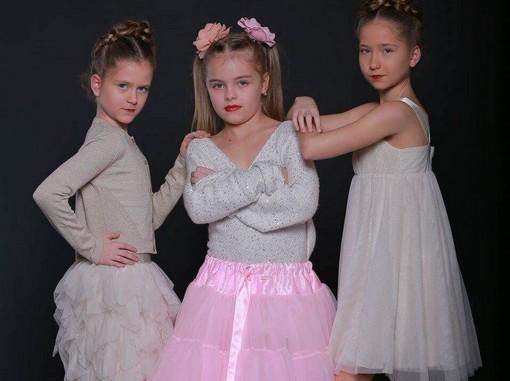 Három gyerekmodell, Kép: Paprika Christian