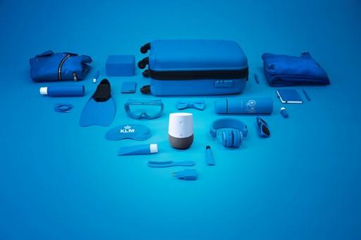 Hangvezérlésű csomagoló, Kép: KLM