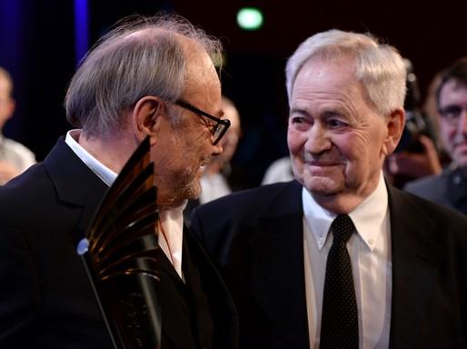Klaus Maria Brandauer és Szabó István, Kép wikimedia