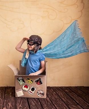 Pilóta jelmez, Kép: sudocrem