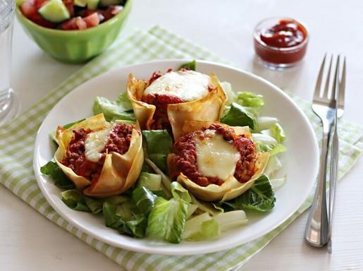 Pulykás lasagne-falatok, Kép: gallicoop.hu
