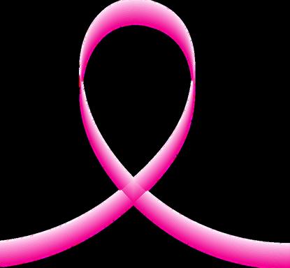 Rózsaszín szalak, a mellrák megelőzésének jelképe, Kép: pixabay