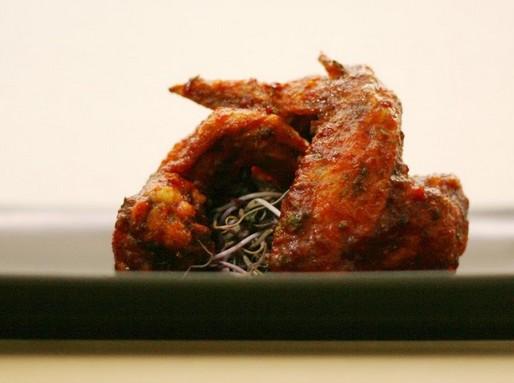 Veszélyesen ropogós chilis csirkeszárnyak, Kép: Inner Taste