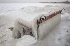 balaton, fotók, hideg, jég, öblök, tél