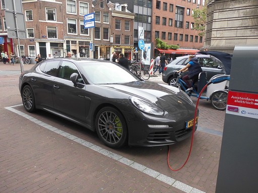 Elektromos autó, Kép: pixabay