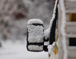 abroncs, biztonság, felszerelés, hólánc, téli közlekedés, visszapillantó