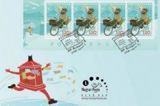 alkalmi bélyeg, képeslap, Postcrossing, Vidák Zsolt grafikus