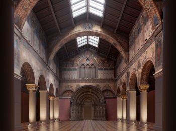 felújítás, korszerűsítés, művészet, múzeum, restaurátor, Román Csarnok, Szépművészeti Múzeum