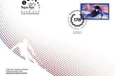 alkalmi bélyeg, alkalmi bélyegző, gyorskorcsolya, XXIII. Téli Olimpiai Játékok