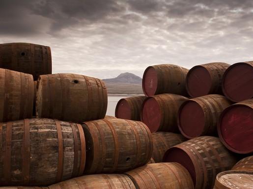 Whiskys hordók, Kép: The Famous Grouse