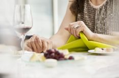 ötletek, szalvéta, színek, terítés, vacsora, Valentin nap