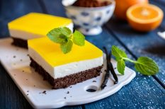 brownie, egészséges, húsvéti süti, narancslé, túró