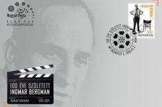 100. évforduló, alkalmi bélyeg, bélyegkibocsátás, Elekes Attila André, filmművészet, Ingmar Bergman. születésnap