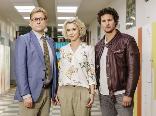 A tanári kar az RTL-en, Kép: RTL Klub