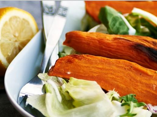 Batáta saláta, Kép: Polcz