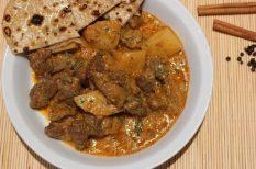bárány, curry, fűszerek, húsvét, indiai fogás, joghurt