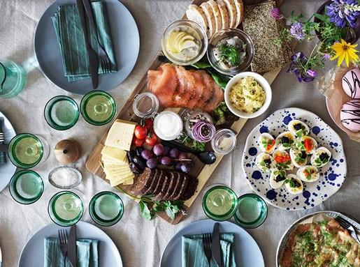 Húsvéti asztal, Kép: Ikea