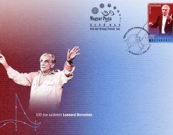 100. születésnap, bélyegkiadás, kamester, Leonard Bernstein, West Side Story, zeneszerző
