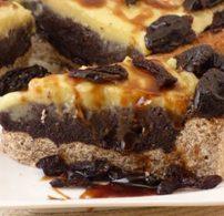 gluténmentes, mák, pite, sütemény, vaníliapuding