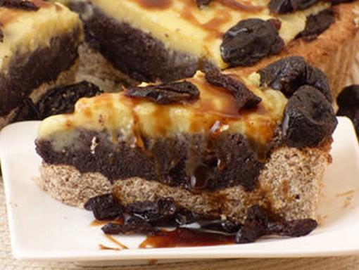 Mákos pite aszalt szilvával, Kép: bulkshop.hu