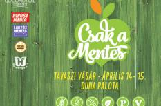 Csak a Mentes, Duna Palota, egészség, gasztronómia, programajánló, tavasz, vásár