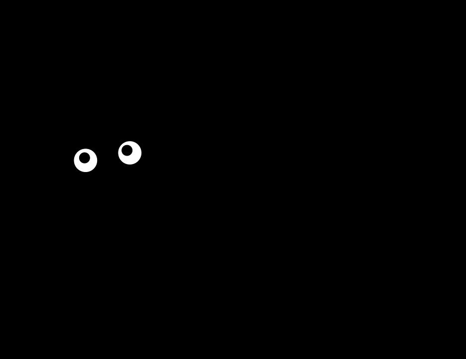 Fekete cica grafika, Kép: pixabay