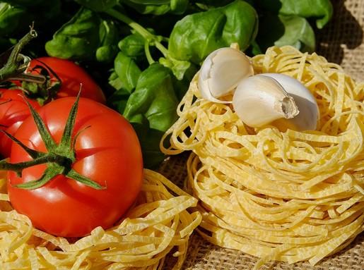 Fokhagymás spagetti, Kép: pixabay