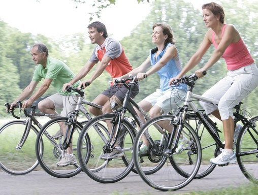 Kerékpározók, Kép: diabetesatlas.org
