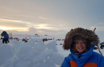 expedíció, hó, svédország, szánhúzó kutya, túra, Zaja Kitty